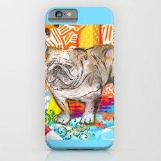 Bulldog pop art Slim Case iPhone 6s