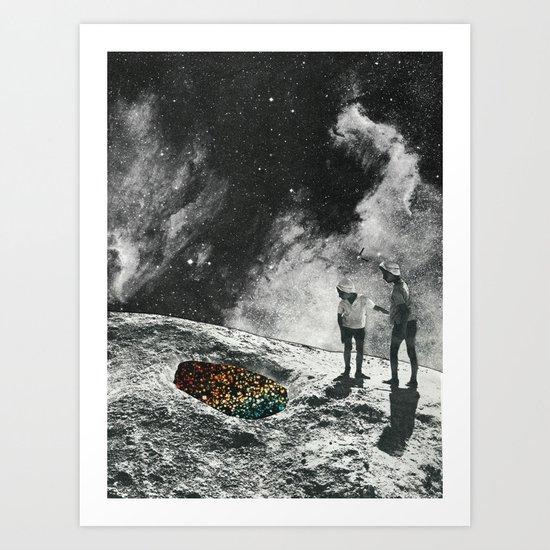 Il buco Art Print