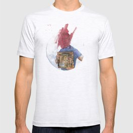 Anti-Portrait with Vinyl The Streets Original Pirate Material T-shirt