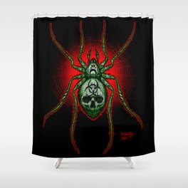 Arachnazrael Shower Curtain