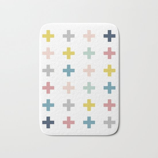 Cross Bath Mat