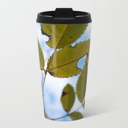 Leaves Metal Travel Mug
