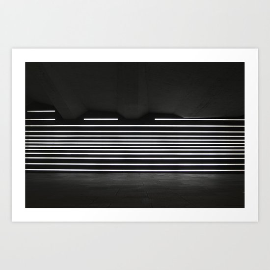 Welcome To Lights Art Print