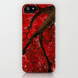 Ruby Leafage iPhone Case