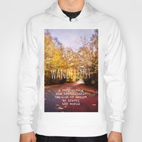 wanderlust Hoodies featuring wanderlust by Sylvia Cook Photography