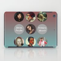 orphan black iPad Cases featuring Orphan Black, Family by Your Friend Elle