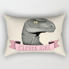 Clever Girl - Jurassic park Rectangular Pillow