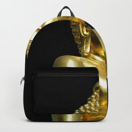 Gold Buddha Backpack