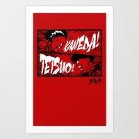 akira Art Prints featuring Akira! by Demonigote