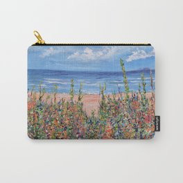 Summer Beach, Impressionism Seascape Carry-All Pouch