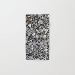 pebbles on the beach Hand & Bath Towel