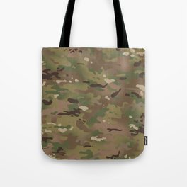 Military Woodland Camouflage Pattern Tote Bag