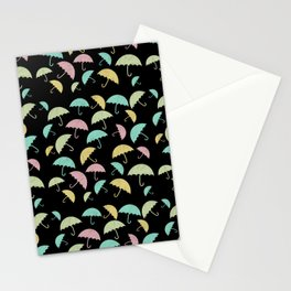 Beautiful umbrella pattern Umbrella illustration // umbrella lovers // hand drawn umbrella Stationery Cards