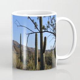 Saguaro Cactus at Picture Rocks II Coffee Mug