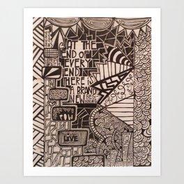 No.4 Art Print