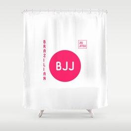My Favorite Sport is Brazilian Jiu-Jitsu BJJ Training MMA Shower Curtain