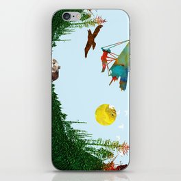 Fly together iPhone Skin