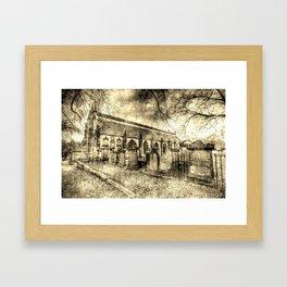 Greyfriars Kirk Edinburgh Vintage Framed Art Print