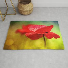 Adorable Poppies... Rug