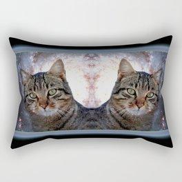Cats in Space Rectangular Pillow