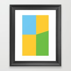 ComicCase_4 Framed Art Print