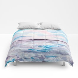 Abstract seaview Comforters