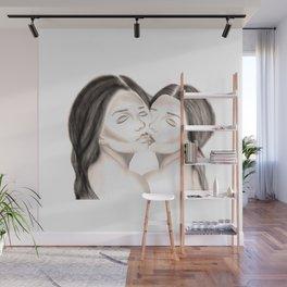 embrassé Wall Mural
