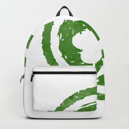 St Patrick Day Irish Cloverleaf lucky clover gift Backpack