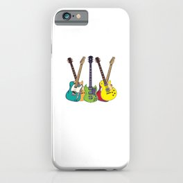 You Can Never Have Too Many Guitars Country Music For Blues iPhone Case