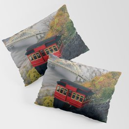 An Autumn Day on the Duquesne Incline in Pittsburgh, Pennsylvania Pillow Sham