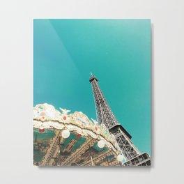 paris always. Metal Print