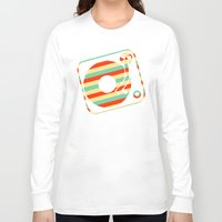record Long Sleeve T-shirts featuring Retro Record by Sabrina