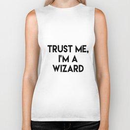 Trust me I'm a wizard Biker Tank