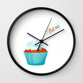 Eat me Wall Clock