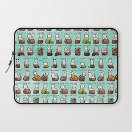 Coffee Cats Laptop Sleeve