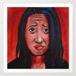Face IV Art Print