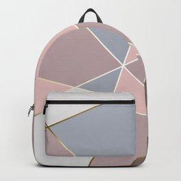 Fragments Rose Bleu Gold Backpack