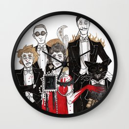 The Master and Margarita Wall Clock