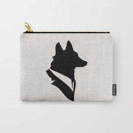 Monsieur Renard / Mr Fox - Animal Silhouette Carry-All Pouch