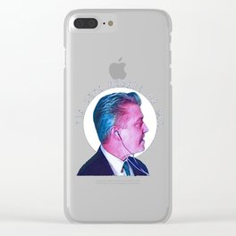 Fix Your Hearts or Die Clear iPhone Case