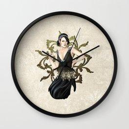 1920s Jazz Siren Wall Clock