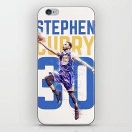 Steph Curry Warriors iPhone Skin