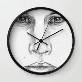 Kylo Ren/Adam Driver Portrait Wall Clock