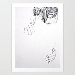 Faintness of Being Art Print