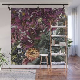 Dried Posies Wall Mural