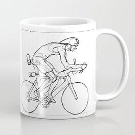 Transitions through Triathlon Cyclists Drawing A Coffee Mug