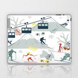 SKI LIFTS Laptop & iPad Skin