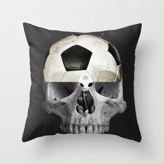 Football WM 4 Throw Pillow