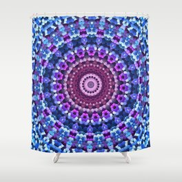 Kaleidoscope Mosaic Shower Curtain