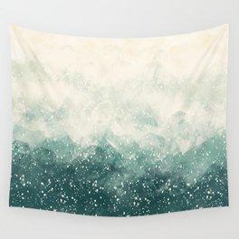 Snowy Summer Wall Tapestry